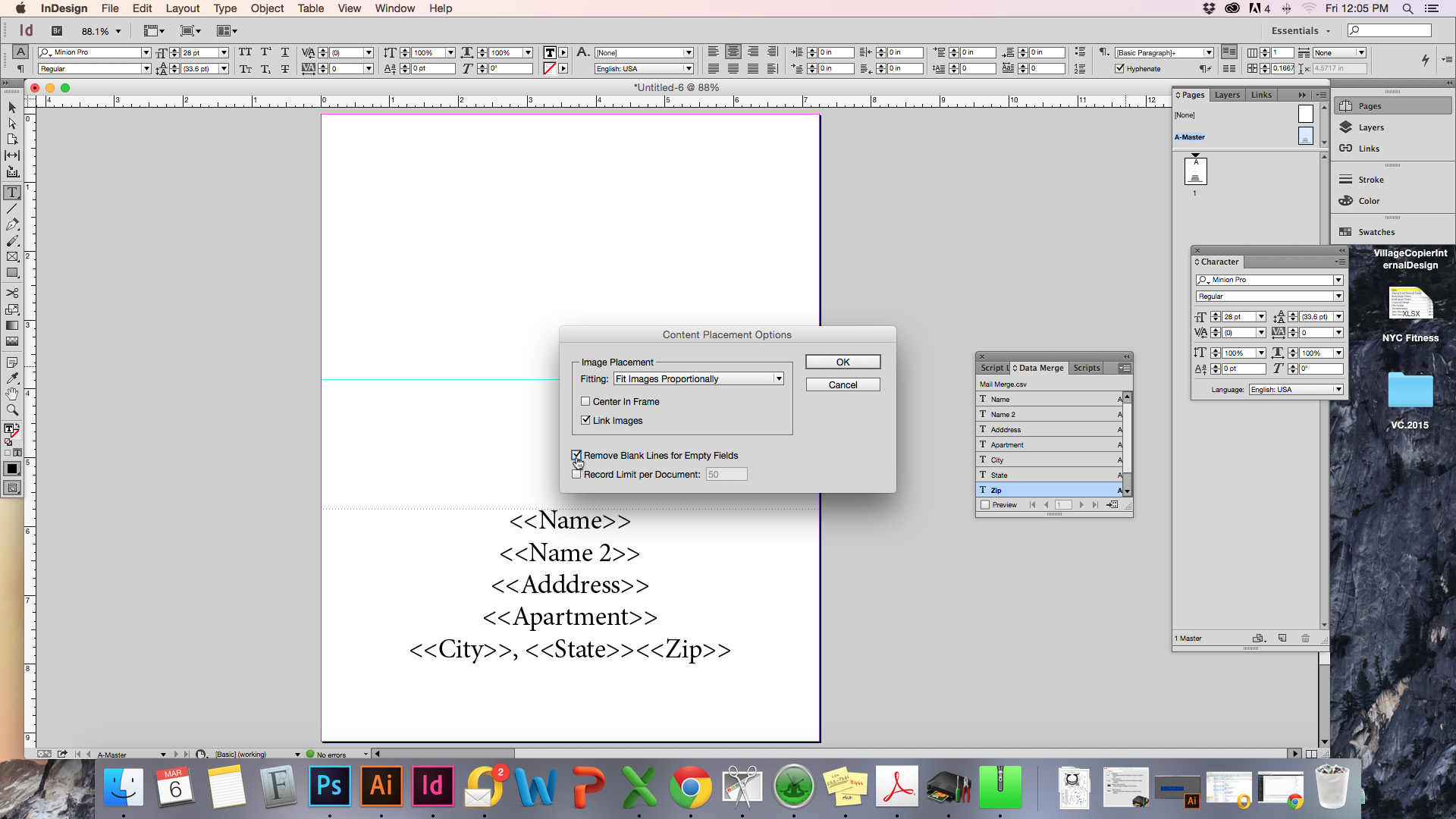 Printing Tips & Tricks: Setting Up a Mail Merge | Village Copier