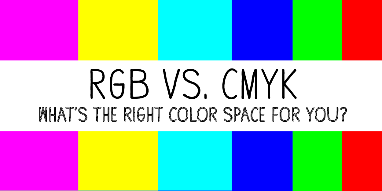 We Hear RGB And CMYK Thrown Around A Lot When Talking About The Right Color Profile To Use Design On Computer But What Does It All Mean