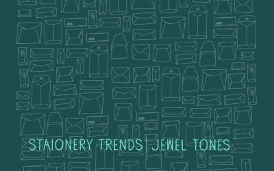 Stationery Trends: Jewel Tones