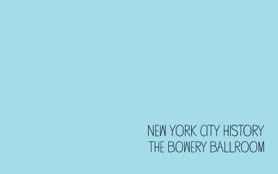 NYC History: